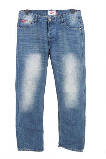 Lee Cooper Mid Waist Boot Cut Womens Denim Jeans W34 L32