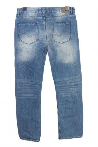 Vintage Lee Cooper Mid Waist Boot Cut Womens Denim Jeans W34 L32 Mid Blue J4796-129288