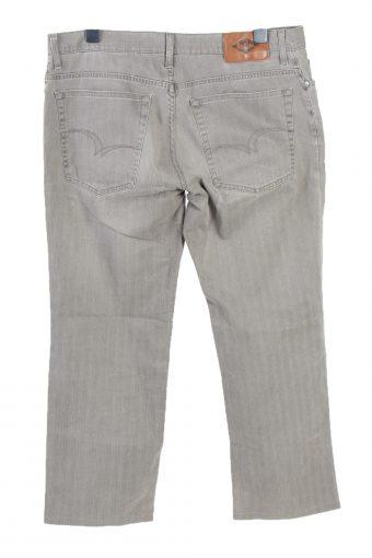 Vintage Lee Cooper Mid Waist Straight Leg Unisex Lightweight Jeans W39 L30 Light Grey J4806-129328