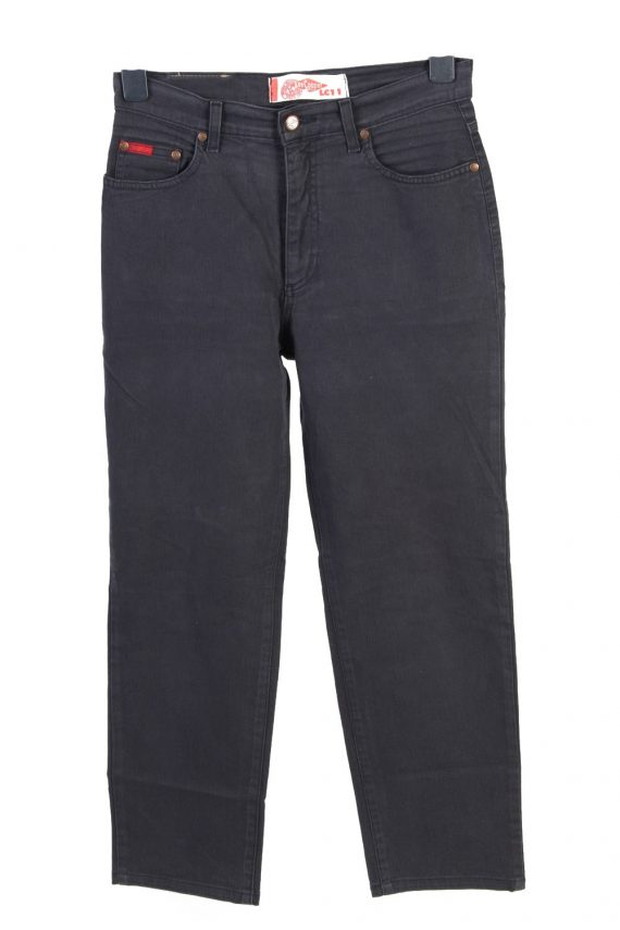 Vintage Lee Cooper High Waist Unisex Jeans W30 L26 Black J4813-0