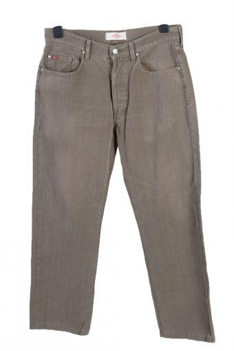 Lee Cooper High Waist Regular Leg Denim Jeans W32 L29