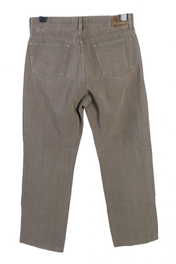 Vintage Lee Cooper High Waist Regular Leg Unisex Denim Jeans W32 L29 Khaki J4816-129369