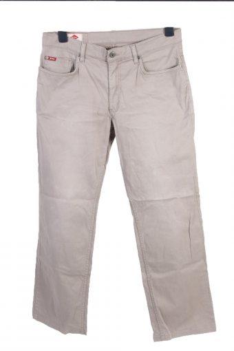 Lee Cooper Mid Waist Straight Leg Unisex Jeans W33 L30