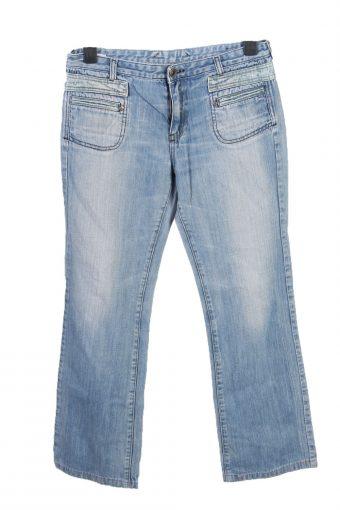 Diesel Mid Waist Boot Cut Womens Denim Jeans W32 L285