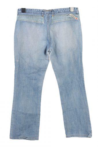 Vintage Diesel Mid Waist Boot Cut Womens Denim Jeans W32 L28.5 Mid Blue J4845-129487