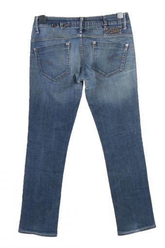Vintage G-Star Low Waist Straight Womens Denim Jeans W32 L31 Mid Blue J4847-129495