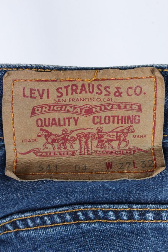 Vintage Levis 541 Mid Waist Womens Denim Jeans W27 L31 Mid Blue J4851-129519