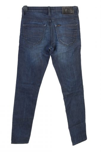 Vintage Lee Scarlett Low Waist Straight Womens Denim Jeans W27 L31 Dark Blue J4852-129522