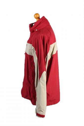 Vintage Helly Hansen Puffer Coat Jacket Unisex Size L Red -C1926-132860