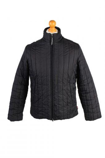 Vintage Fila Puffer Coat Jacket Unisex Size M (USA) Black