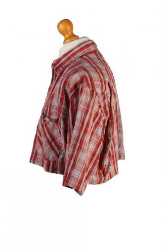 Vintage Marlboro Classics Womens Croped Top Shirt Short Sleeve L Red CRTOP14-132261