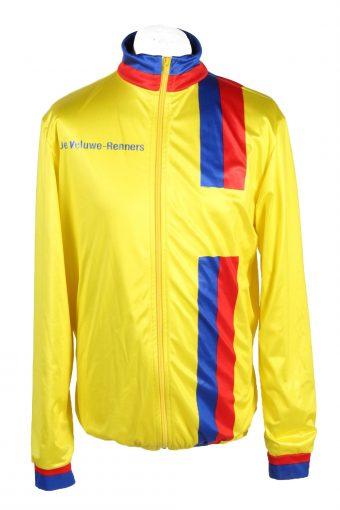 Cycling Shirt Jersey 90s Retro Yellow XL