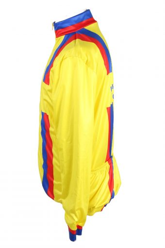 Vintage GH Sportswear Unisex Cycling Jersey Long Sleeve Full Zip With Back Pockets Size S Multi CW0716-131761