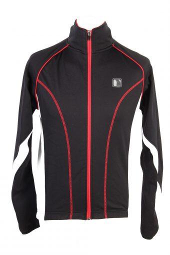 Cycling Shirt Jersey 90s Retro Black S