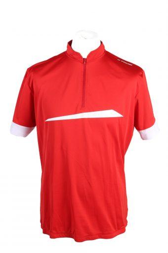 Cycling Shirt Jersey 90s Retro Red XXL