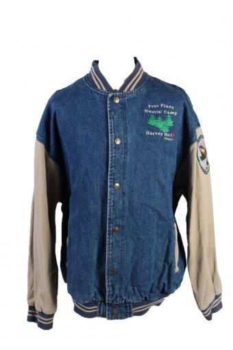 Lee Four Pines Huntin' Club Denim Jacket Mid Blue XXL