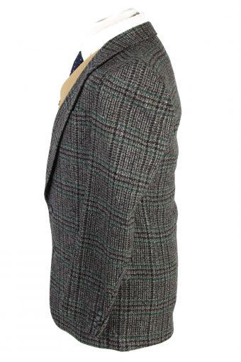 "Vintage Tweed Vetanni Classic Blazer Jacket Chest 40"" Grey HT2821-131027"