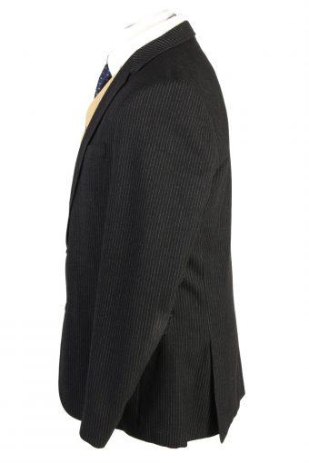 "Vintage Hugo Boss Classic Blazer Jacket Chest 44"" Black HT2823-131035"