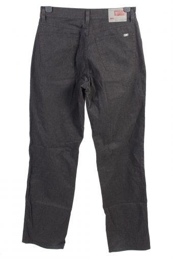 Vintage Mustang Nevada High Waist Lightweight Unisex Denim Jeans W32 L34 Black J4947-130035