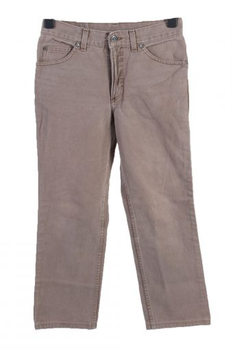 Cargo Trousers Vintage Combat Work Outdoor Belted Grey W33 L34