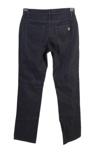 Vintage Trussardi Jeans Mid Waist Straight Leg Womens Denim Jeans W28 L32 Navy J4968-130120