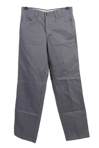 2 in 1 Cargo Trousers Utility Combat Work Elastic Waist Beige W34 L32