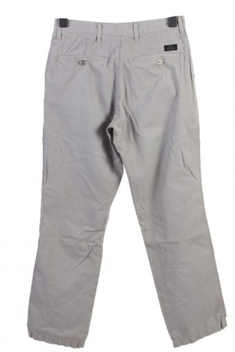 Vintage Lee New Jersey High Waist Unisex Chinos Jeans W30 L32 Grey J4980-130292