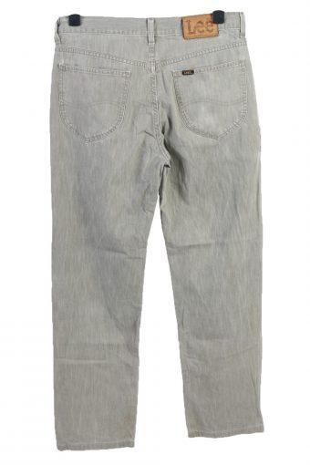 Vintage Lee Chicago High Waist Unisex Lightweight Jeans W33 L31 Sage Green J4990-130332