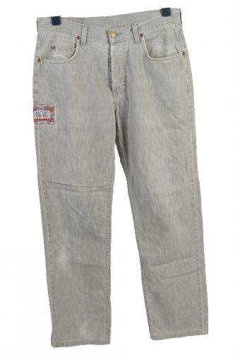 Vintage Cargo Trousers Combat Work Outdoor Comfort Beige W32 L34