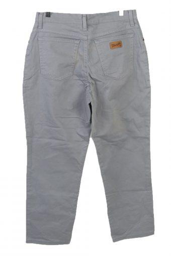 Vintage Wrangler High Waist Straight Leg Womens Lightweight Jeans W32 L27 Grey J5074-130672
