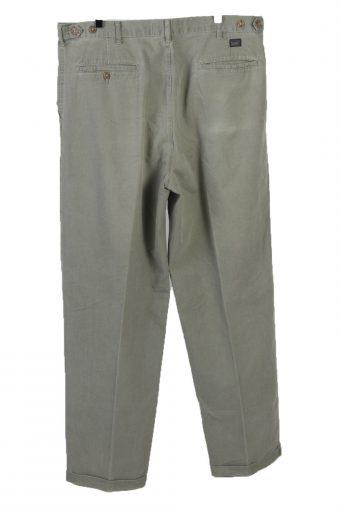 Vintage Lee High Waist Unisex Lightweight Jeans W38 L33 Khaki J5087-130724