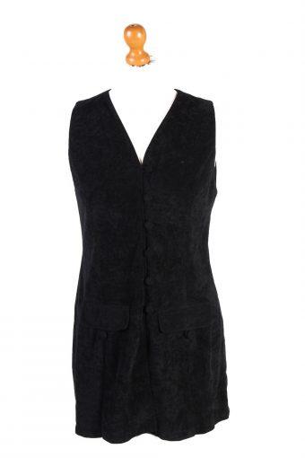 Womens Sleeveless Shirt Black S