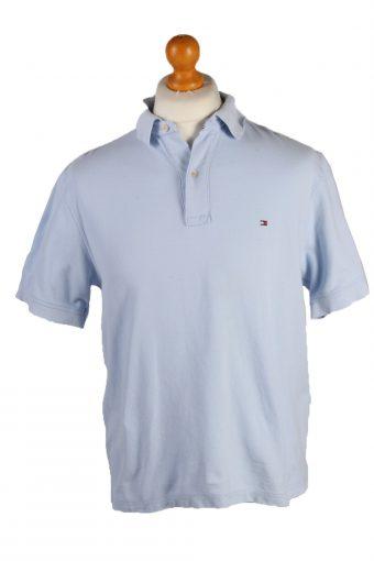 Pierre Cardin Polo Shirt 90s Retro Light Blue M