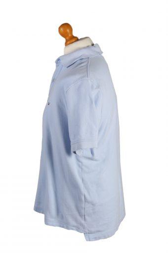 Vintage Pierre Cardin Polo Shirt Top Short Sleeve M Blue -PT1218-132384