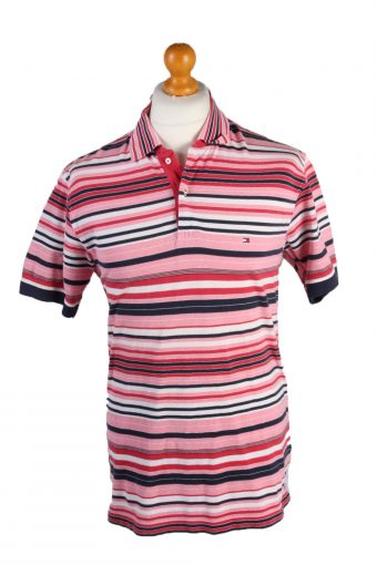 Tommy Hilfiger Polo Shirt 90s Retro L