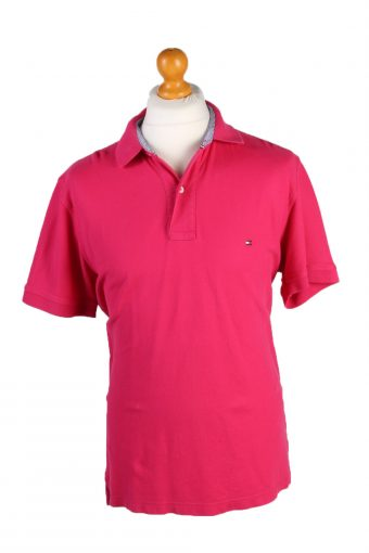 Tommy Hilfiger Polo Shirt 90s Retro Pink XL