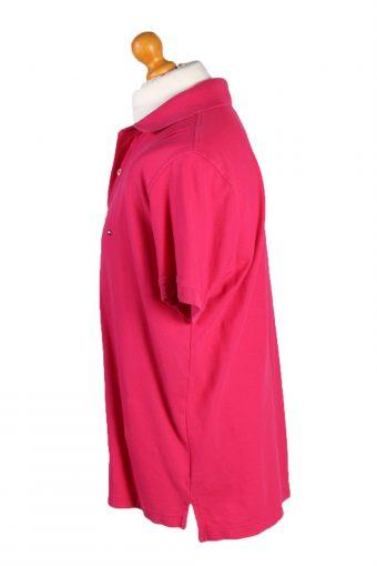 Vintage Tommy Hilfiger Polo Shirt Top Short Sleeve XL Pink -PT1229-132428