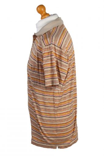Vintage Pierre Cardin Polo Shirt Top Short Sleeve Chest 44' Multi -PT1239-132468
