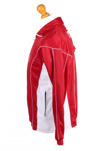 Nike Mens Tracksuit Top Turkey Vintage Full Zip Size S Red -SW2549-131260