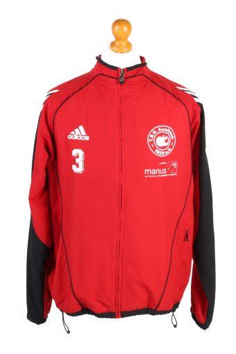Adidas Mens Track Top TSV Ausbach Red L
