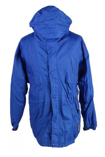 Helly Hansen Waterproof Raincoat Festival Outdoor Jacket Blue S