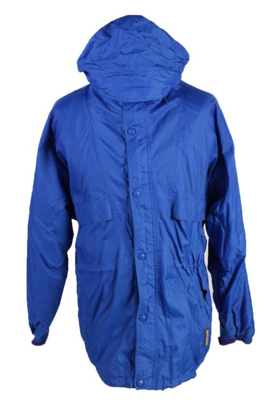 Vintage Helly Hansen Waterproof Raincoat Festival Outdoor Jacket Unisex S Blue -SW2567-0