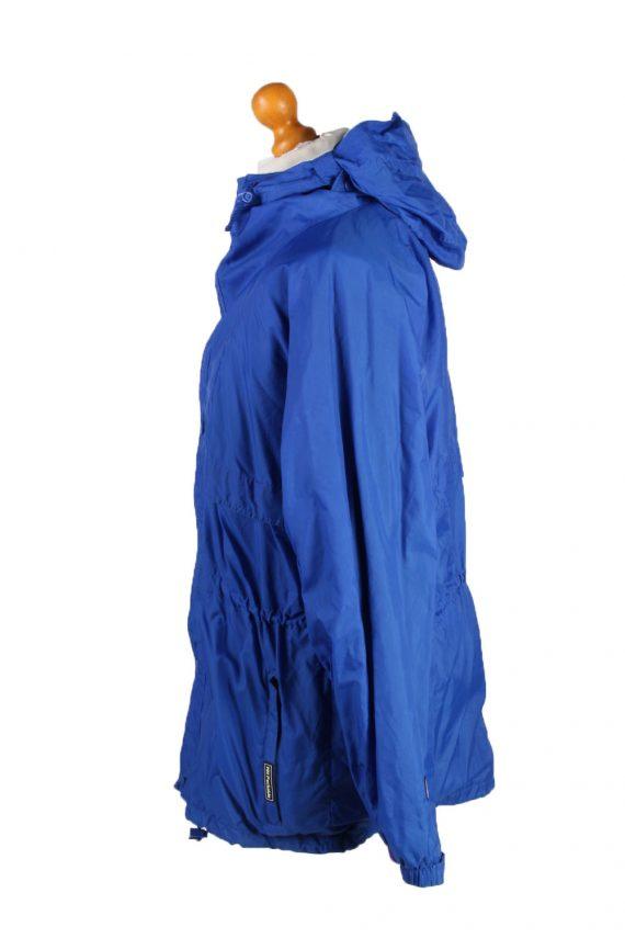 Vintage Helly Hansen Waterproof Raincoat Festival Outdoor Jacket Unisex S Blue -SW2567-132753