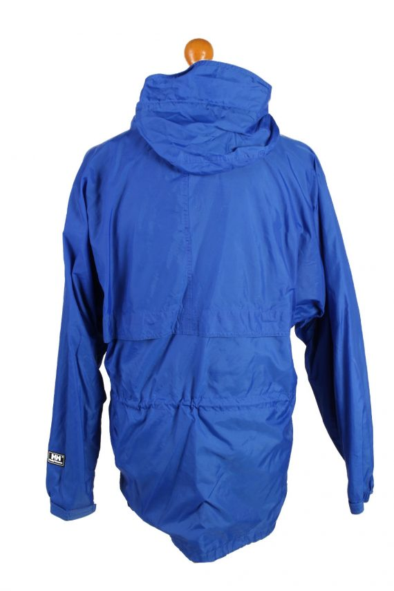 Vintage Helly Hansen Waterproof Raincoat Festival Outdoor Jacket Unisex S Blue -SW2567-132754