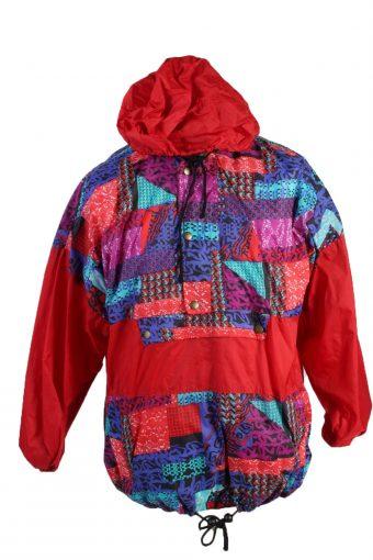 Windbreaker Waterproof Raincoat Festival Outdoor Jacket Red L