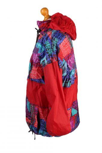 Vintage San Marco Waterproof Raincoat Festival Outdoor Jacket Unisex L Red -SW2569-132761