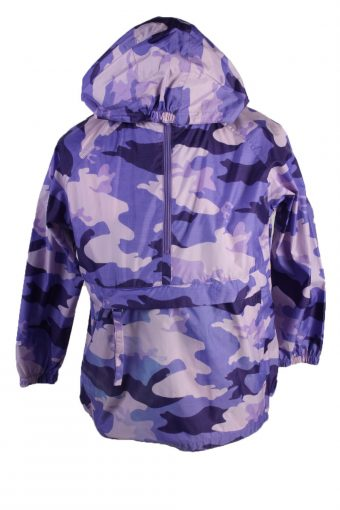 The Children Place Waterproof Raincoat Festival Outdoor Jacket Kids Purple 10-12 Years