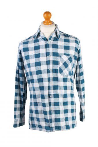 Vintage Lord George Audrey Hepburn Printed Unisex Long Sleeve Flannel Shirt Reworked 39 Multi SH3996-133775