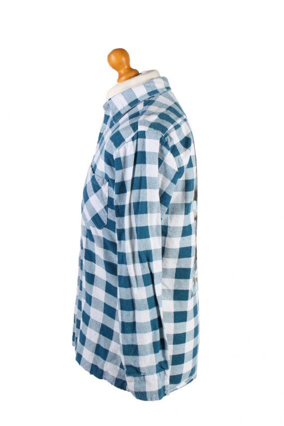 Vintage Lord George Audrey Hepburn Printed Unisex Long Sleeve Flannel Shirt Reworked 39 Multi SH3996-133776