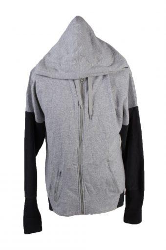 Champion Full Zip Hoodie Sweatshirt Top Grey XXL